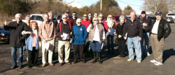 The group of Smoky Mountain Region members who participated in the drive out. (Lynn Sheeley III)