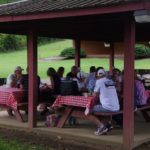We lunched at Sycamore Shoals