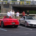 Dam Porsches...