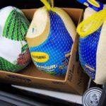 Turkeys in the trunk!