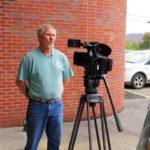 Bob talks to the press